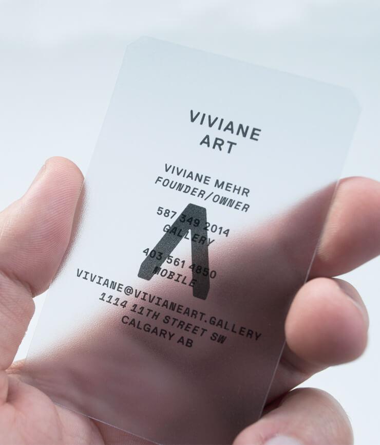 Eric seymour work viviane art branding va business card close 05 reheart Images